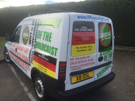 Guy Tweedy's van