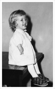 Young Thalidomide victim