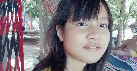 Srey Hang smiling